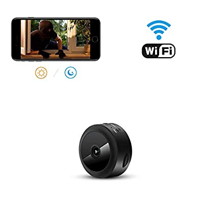 AOBO Hidden Camera WiFi Camera Mini Wireless HD 1080P Indoor Home Small Hidden Nanny Cam Security Cameras (spy Camera)