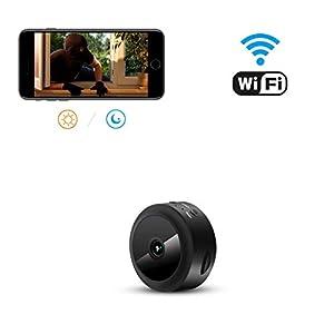 aobo Nascosta Telecamera Spia 1080P HD Mini Microcamere WiFi IP ...