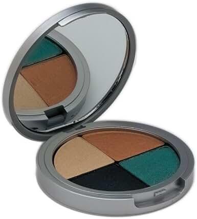 The Organic Face 100% All Natural Quad Eye Shadows, Shabby Chic