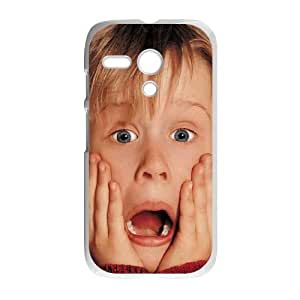 Motorola G White Home Alone phone cases&Holiday Gift