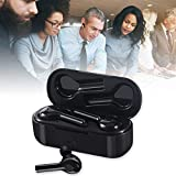 Leegoal Language Translator Headset, 2 in 1 in-Ear Instant Voice Translator Earbuds for iOS & Android, Wireless Noise Cancelling Headphone with Mic Supports 33 Languages for Travelling Busines(Black)