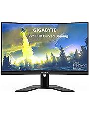 "GIGABYTE G27FC A (27"" 165Hz 1080P Curved Gaming Monitor, 1920 x 1080 VA 1500R Display, 1ms (MPRT) Response Time, 91% DCI-P3, FreeSync Premium, 1x Display Port 1.2, 2X HDMI 1.4)"