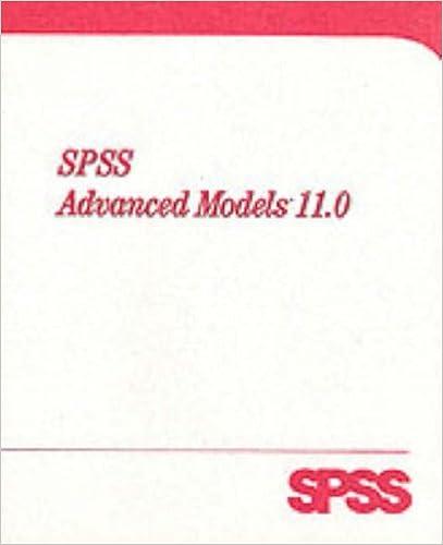 SPSS 11 0 Advanced Models: Inc  SPSS, SPSS Inc