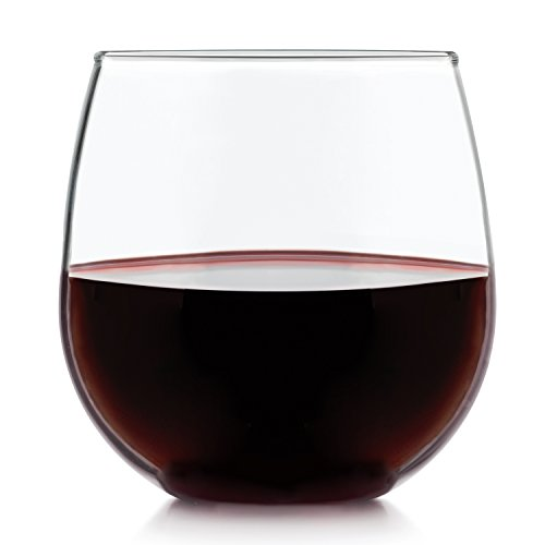 Libbey Stemless 4-piece Red Wine Glass (Libbey Red Wine Glass)