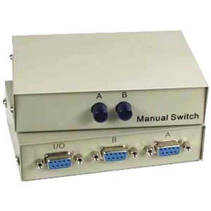 SF Cable, 2-Way DB9 Female AB Serial Switch Box (Ab Switch Db9)