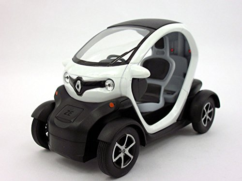 renault-twizy-1-18-sclae-diecast-model-car-white