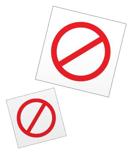 Universal No Symbol - PECS Universal NO Symbols for Picture Exchange Communication Programs