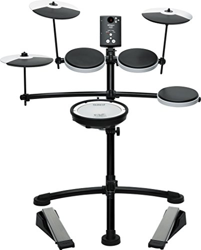 Roland TD-1KV Electronic Drum Set Bundle with 3 Pairs of Sticks, Audio Cable, and Austin Bazaar Polishing Cloth