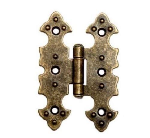 antik Optik bronce M/öbelscharniere M/öbelband M/öbelb/änder Scharnier