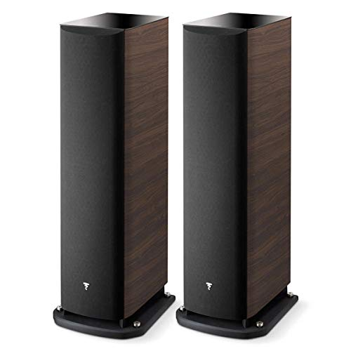 Focal Aria 948 3-Way Bass-Reflex Floorstanding Speakers - Pair (Dark Walnut)