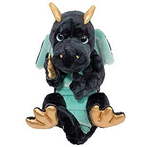 Douglas Navy Dragon Lil' Handful Plush Stuffed Animal