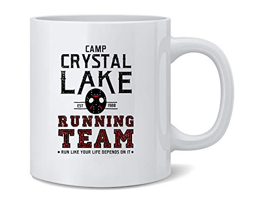 Camp Crystal Lake Running Team Costume Horror Coffee Mug Tea Cup 12 oz