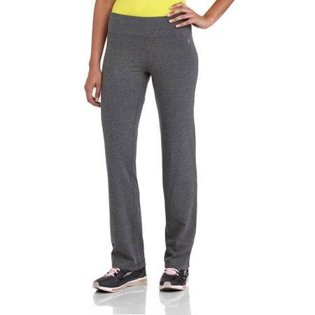 Danskin Now Women's Dri More Straight-Cut (Grey size 1X) (Danskin Plus Size Yoga Pants compare prices)