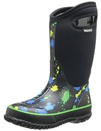 Bogs Kids Classic Winter Plaid Waterproof Winter & Rain Boot (Toddler/Little Kid/Big Kid)