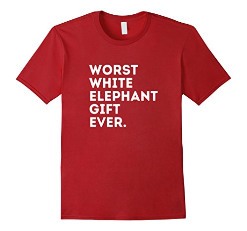 Mens Best Worst White Elephant Gift Ever Funny Gifts Under 20 25 Large Cranberry