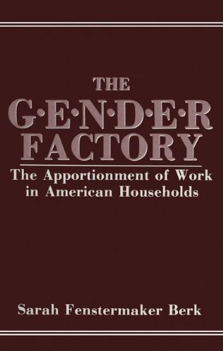 The Gender Factory: The Apportionment Of Work In American Households