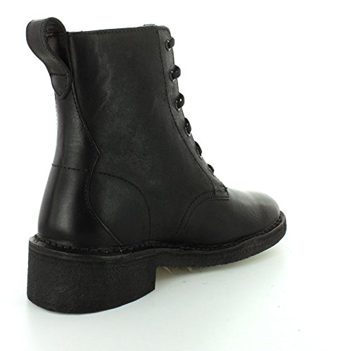 Clarks Damen Maru Mali Combat Boot Black