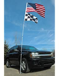 Flagpole To Go Ultimate Tailgaters Package With 20-Foot Porta...