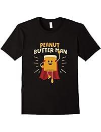 PEANUT BUTTER MAN Hero T-Shirt