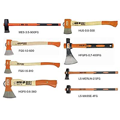 Bahco Camping Axe: 14.25 Wood Handle: Home Improvement