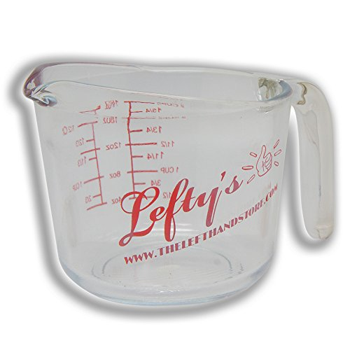 Lefty's Left-Handed 2-Cup Glass Measuring Cup