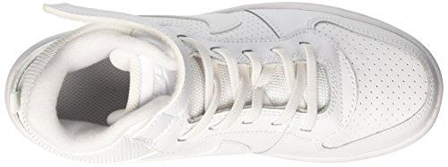 Garçon de Borough PSV Mid Blanc Chaussures Nike White Basketball White Court q50wgO66X