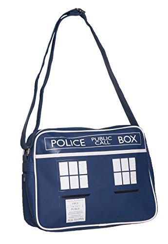 Blu Tardis Doctor Who Messenger Bag
