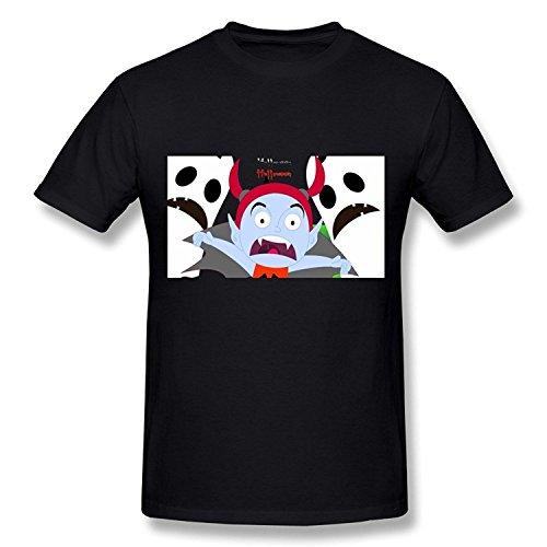 WunoD Men's Happy Halloween T-shirt Size XL -