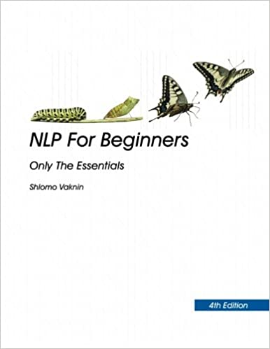 Nlp For Beginners 4th Edition Only The Essentials Shlomo Vaknin