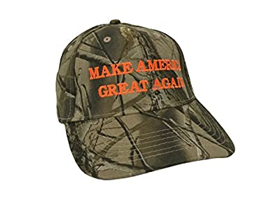 Make America Great Again Donald Trump Hat - Realtree Hardwoods Camo