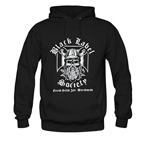 Black Label Society Viking Mens hoody Sweatshirt L Black