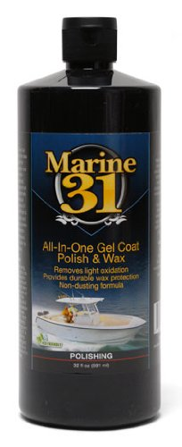 Marine 31 All In One Gel Coat Polish   Wax 32 Oz
