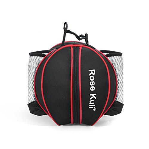 ROSE KULI Waterproof Basketball Bag Football Carrying Bag Volleyball Sports Bag with Adjustable Shoulder Strap
