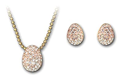 6e1dae732 Image Unavailable. Image not available for. Color: Swarovski Born Set, gold- plated