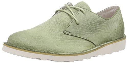 sage Grün cordones Ll69 Blackstone de derby Zapatos Mujer Verde qt8d08wr