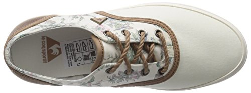 Le Coq Sportif Lagache W Botanic - Zapatillas de Deporte de canvas mujer Blanco - Blanc (Marsh Mallow)