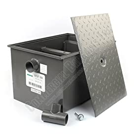 WentWorth 30 Pound Grease Trap Interceptor 15 GPM Gallons Per Minute WP-GT-15