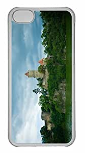 iPhone 5C Case, Personalized Custom Zvikov Castle for iPhone 5C PC Clear Case