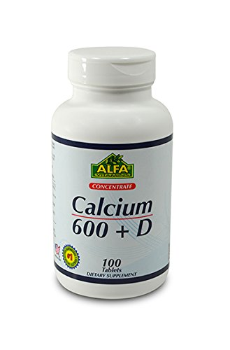 Calcium 600 mg With Vitamin D , Value Size 100 count - Dietary Supplement (Kirkland Department Store)