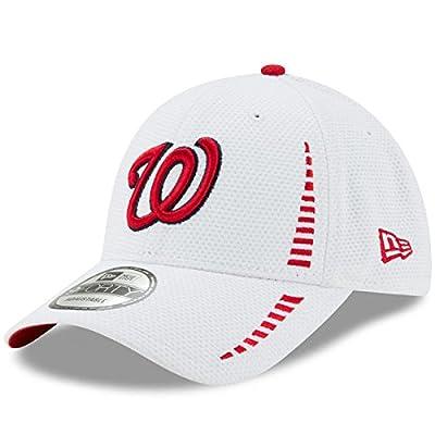 Washington Nationals New Era Speed 9FORTY Adjustable Hat White