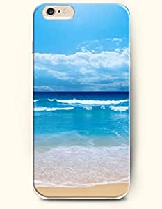 OOFIT iPhone 6 Plus Case 5.5 Inches with the Design of Sea and Beach by icecream design