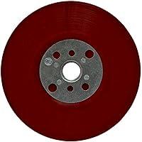 3M Krachtige steunplaat, rood, 115 mm, M14, plat, zacht, 1 stuks/doos