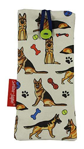Selina-Jayne German Shepherd Dog Limited Edition Soft Fabric Glasses Case