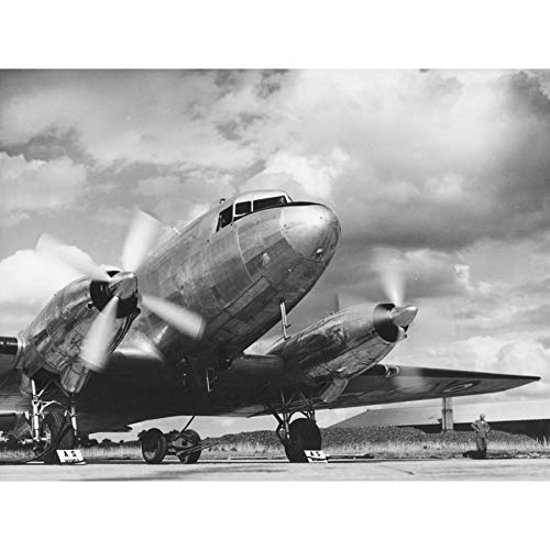 Photo Aeroplane AS Mamba Engine Propellor Extra Large XL Wall Art Poster Print ()