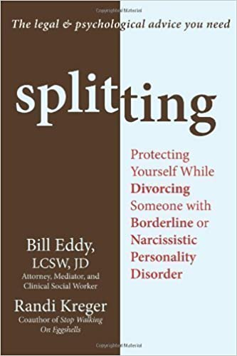 Vapaa se e-kirjat ladattavaksi Splitting: Protecting Yourself While Divorcing Someone with Borderline or Narcissistic Personality Disorder by Kreger, Randy (2012) PDF