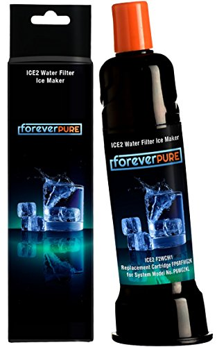 ICE2 F2CW9I1 Ice Maker Filter (Darkblack) by Forever Pure