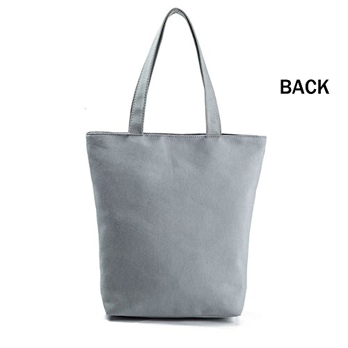 Women's Beach Hobo Canvas Pineapple Shoulder Blue Girls Bag Students Shopping Tote Bag Printing Bag Bag for Handbag rrCPx8wqnF