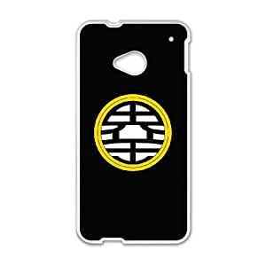 HTC One M7 Phone Case for Dragon Ball Z pattern design
