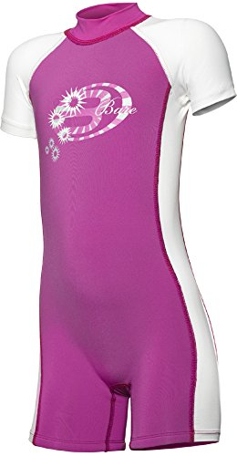 Bare 1mm Kids Sprint Shorty Dive Wetsuit - Hot Pink, Size 2