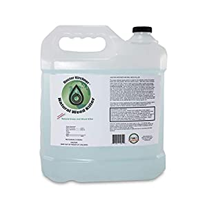 Natural Weed Killer Made with Ocean Water and Commercial Food Grade Vinegar Pet Friendly (2.5 Gallon)